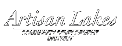 Artisan Lakes Commuity Development District